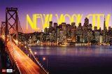Psací podložka na stůl - New York