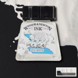 Umělecká tuš Winsor&Newton 14ml  - Bílá