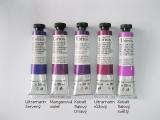 Mistrovské olejové barvy Umton - fialové odstíny