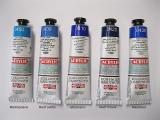 Akryl Koh-i-noor - modré odstíny
