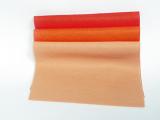 Plsť 20x30cm - oranžové odstíny
