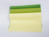 Plsť 20x30 - světle zelené odstíny