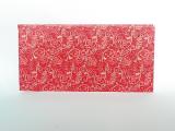 Hedvábný papír ornament červený
