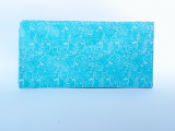 Hedvábný papír ornament modrý