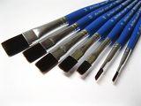 Štětec Da Vinci plochý modrý