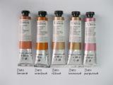 Mistrovské olejové barvy Umton - zlaté odstíny