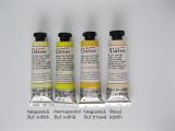 Mistrovské temperové barvy Umton - žluté a tělový odstín