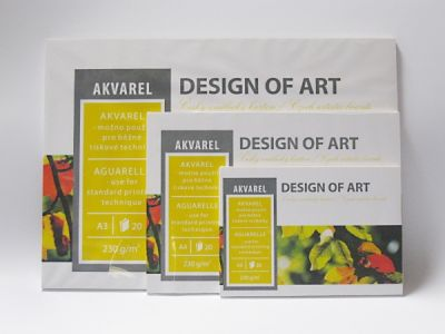 Blok Akvarel, 20 listů, 230g/m2