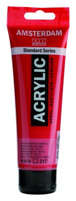Akryl Amsterdam - červené odstíny