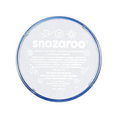 Barva na obličej Snazaroo 18ml - Bílá