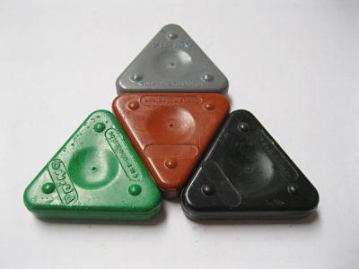 Magic Triangle - trojhranné voskovky Primo
