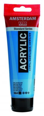 Akryl Amsterdam - světle modré odstíny