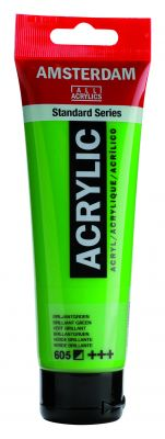 Akryl Amsterdam - zelené odstíny