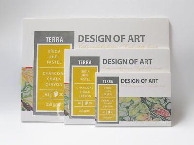 Blok Terra, 20 listů, 250g