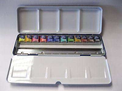 Akvarely Cotman 12ks - Blue box