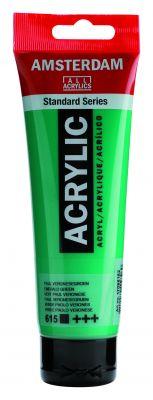 Akryl Amsterdam - tyrkysové a tmavě zelené odstíny