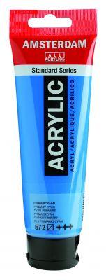 Akryl Amsterdam - středně modré odstíny