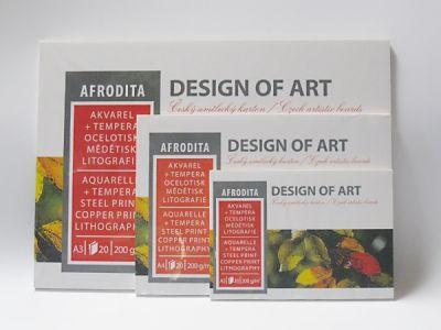 Blok Afrodita, 20 listů, 200g/m2