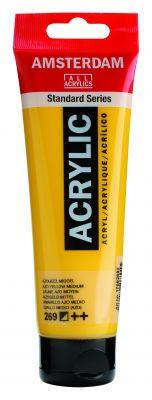 Akryl Amsterdam - žluté odstíny