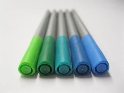 Faber-Castell Grip - zelenomodré odtíny