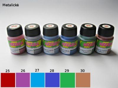 Kresba - barva na textil nezažehlovací