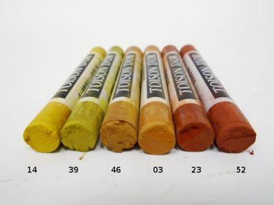 Pastel suchý Koh-i-noor - okrové odstíny