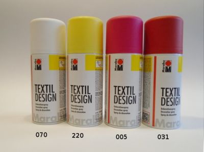 Marabu spray na textil - světlé odstíny