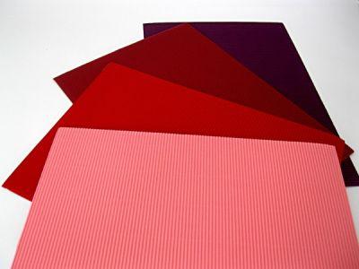 Vlnitý papír 25x35cm