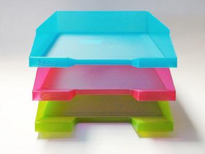 Odkládací box transparentní