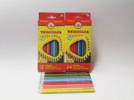 Pastelky Triocolor školní