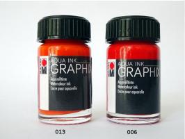 Marabu akvarelová tuš GRAPHIX - 013 - Oranžová