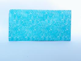 Heyda  Hedvábný papír ornament modrý
