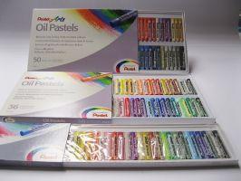 Olejový pastel Pentel