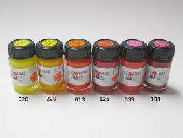 Barvy na sklo vitrážové Marabu