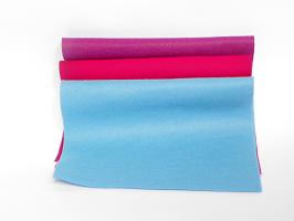 Plsť 20x30 - modrofialové odstíny