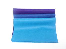 Plsť 20x30 - modré odstíny