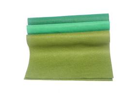 Plsť 20x30 - zelené odstíny