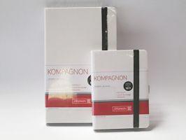 Blok Kompagnon bílý - čtverečkovaný