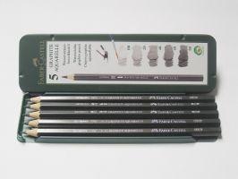 Akvarelové tužky Faber-Castel v plechu