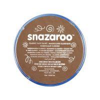 Barva na obličej Snazaroo 18ml - Béžová tmavá