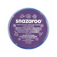 Barva na obličej Snazaroo 18ml - Fialová