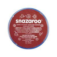 Barva na obličej Snazaroo 18ml - Burgundy