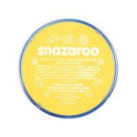 Barva na obličej Snazaroo 18ml - Světle žlutá