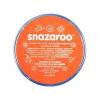 Barva na obličej Snazaroo 18ml - Oranžová
