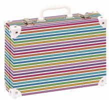 Školní kufřík velký - Proužky