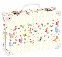 Školní kufřík střední - Motýli