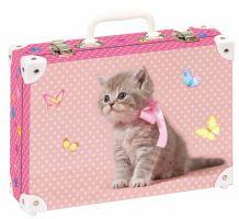 Školní kufřík střední - Kotě