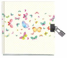 Památník se zámkem - Motýli