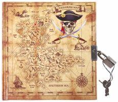Památník se zámkem - Pirát