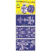 Dekorace na vejce - košilky modrotisk